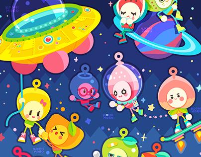 Fruit Aliens!