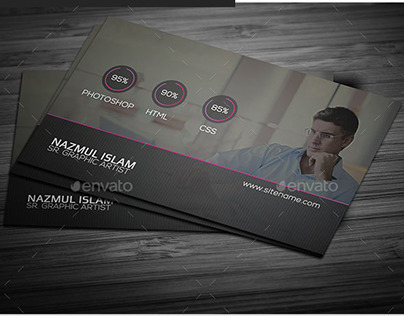 Portfolio Business Card Template