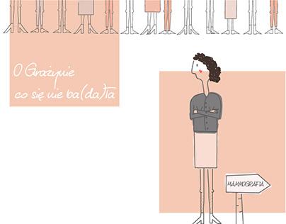 O Grażynie - animacja dot. profilaktyki raka piersi