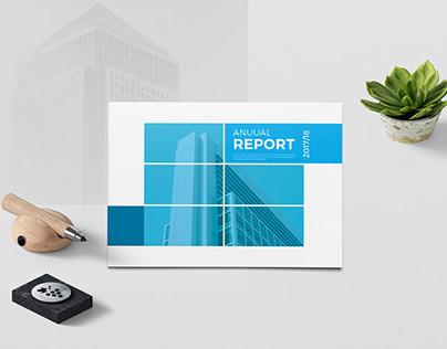 A5 Annual Report Brochure