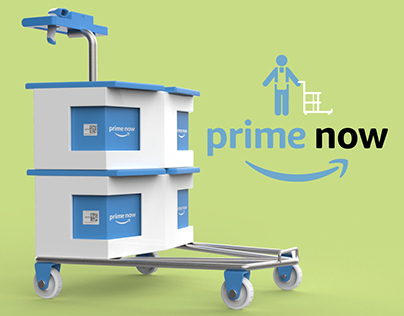 Amazon Prime Now System Redesign - working cart