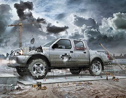 Nissan Terrano / Terreno de hombres