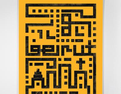 BEIRUT poster (showusyourtype)