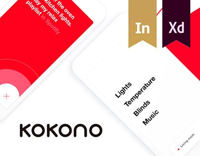 Kokono. Sync your home.