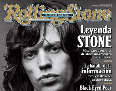 Rolling Stone magazine - covers