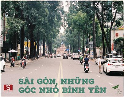 Sài Gòn, những góc nhỏ bình yên