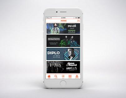 Ticket World App Design
