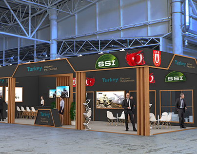 Exhibition Stand // SSI / SSB