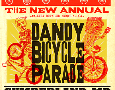 Poster Design | Dandy Bicycle Parade