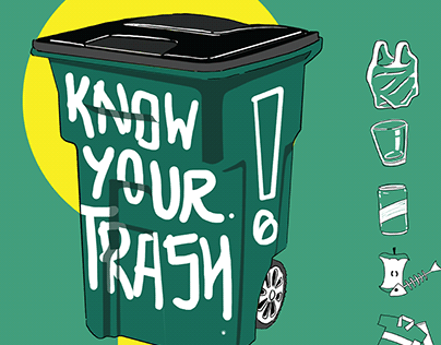 Know Your Trash (Infrograph Design)
