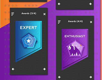 Award App Badges