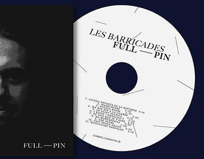 LES BARRICADES: Full - Pin