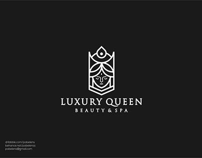 Queen Lineart Logo