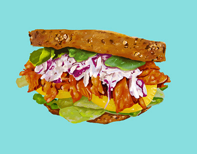 Delicious Chicken Sandwich