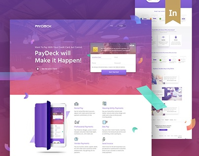 Paydeck | Website Redesign