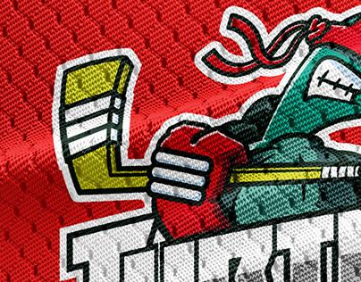 Turtles - Hockey team logo concept
