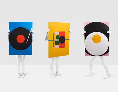 Armando Paredes. Brochure / Set de posters