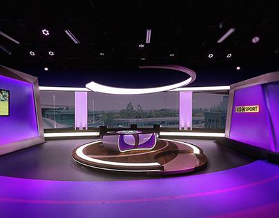 TV Studio for UK sporting event