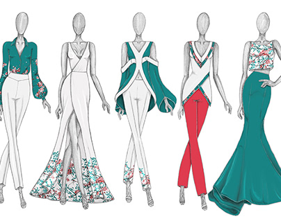 Fashion Design - The Journey - Spring Collection