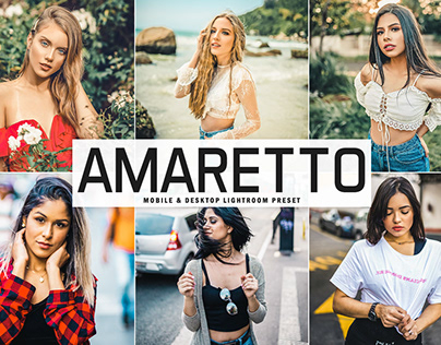 Free Amaretto Mobile & Desktop Lightroom Preset