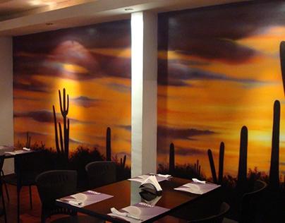 Paint restaurant