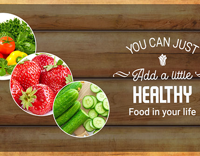 Food Facebook Cover Page Design