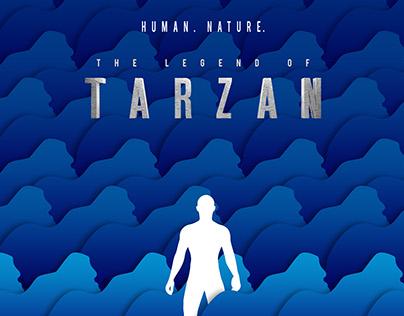 The legend of Tarzan minimal fan art poster