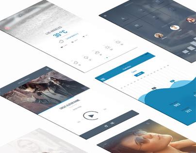 Nevana - Mobile UI Kit