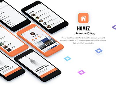 Homez | Realestate IOS App