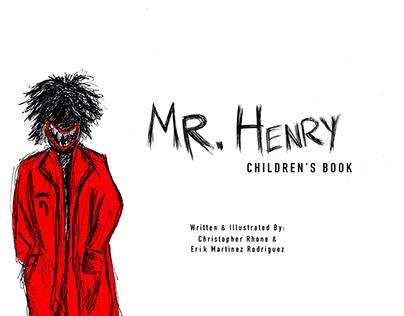 Mr. Henry - Children's Book