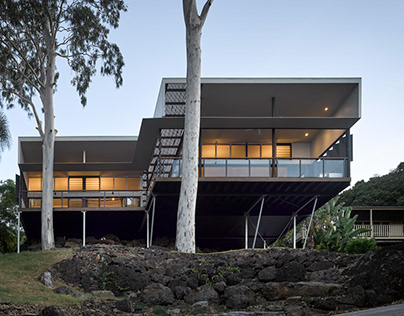 Two Tree House by Bark Design Architects