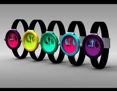 Industrial Design: KidRobot Watch Development