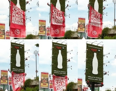 Coca-Cola Plant Billboard