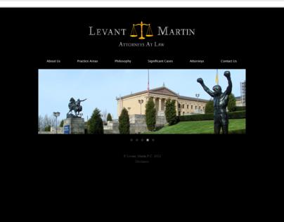 Levant Martin P.C Website 2012