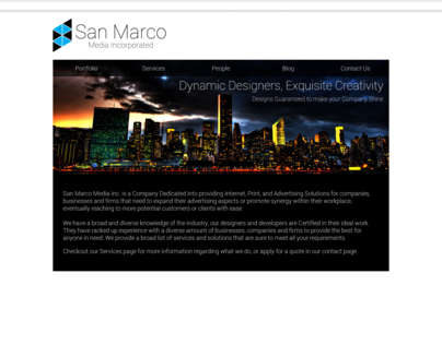 San Marco Media Website 2011