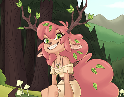 Character concept - Forest nymph