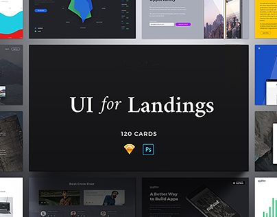 Landing Pages ui
