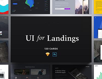 Landing Pages ui
