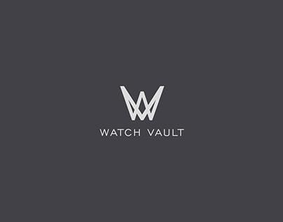 Watch Vault Logo Design