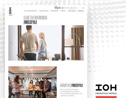 IOH Hotel Website