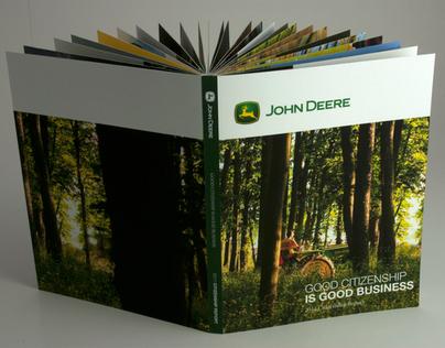 John Deere Corporate Social Responsibility — Brochure