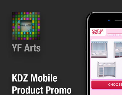 KDZ Product Promo (mobile) - UX/UI Project, June 18'