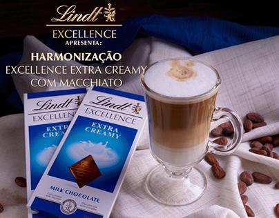 Lindt Excellence - Extra Creamy com Macchiato