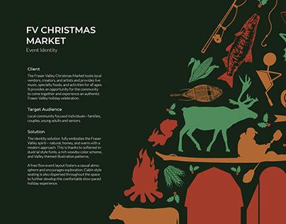 Christmas Market Event Identity