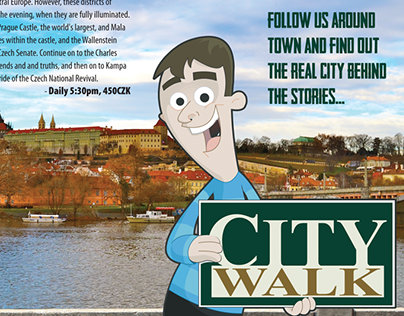 CityWalk Map Cover