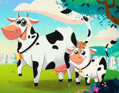 Farm - cow