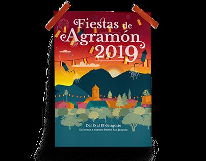 Fiestas de Agramón '19 | Cartelería