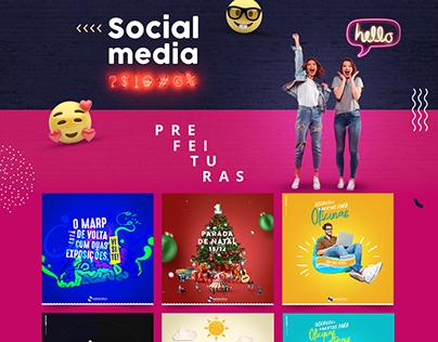 Social Media - Prefeituras