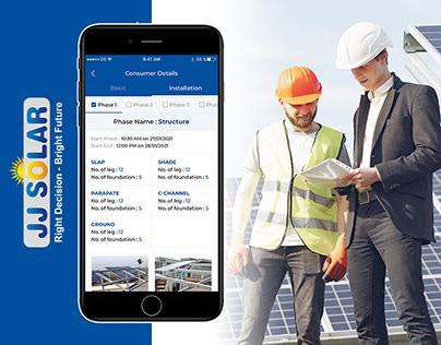 JJ Solar Executive App