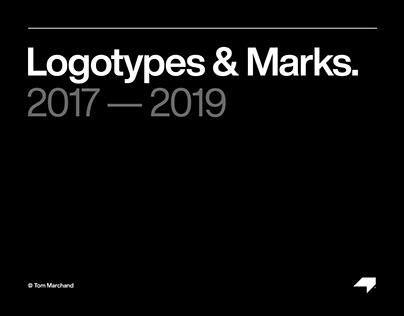 Logotypes & Marks 2017 — 2019